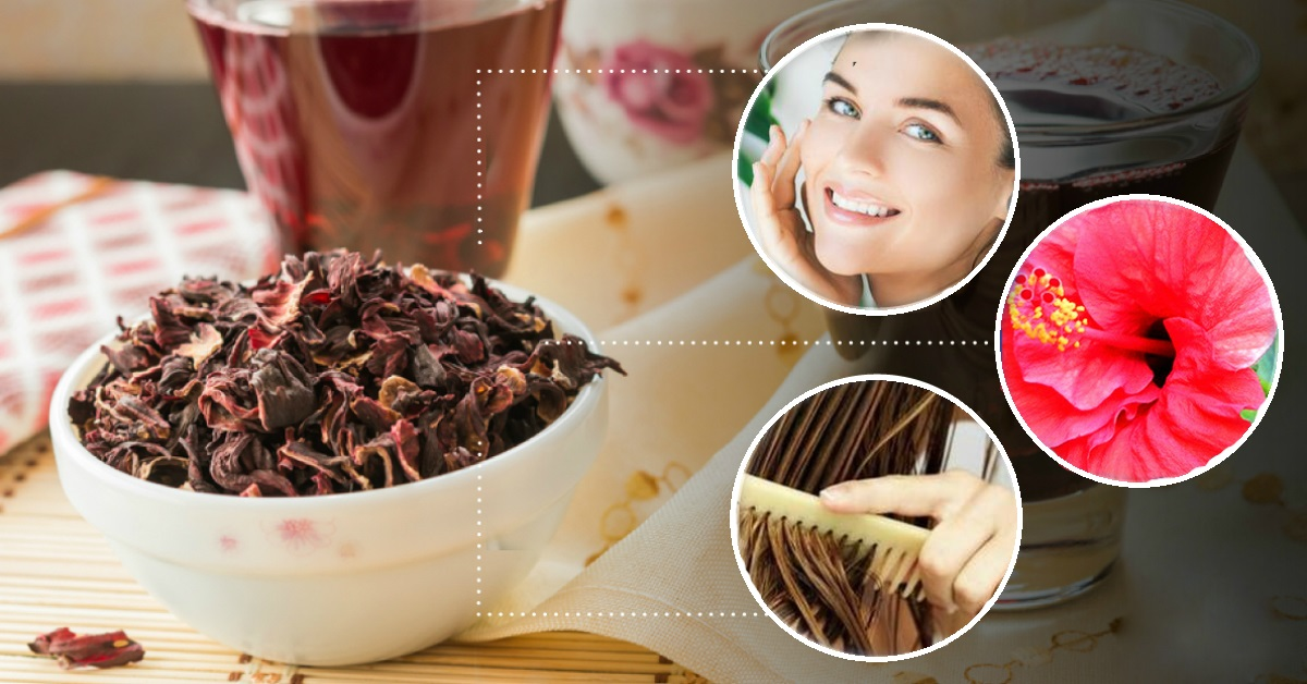 ჩაიტარეთ 6 პროცედურა თქვენი სილამაზის შესანარჩუნებლად კარკადეს ჩაის საშუალებით...
