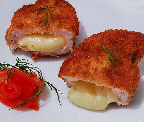 Куриная грудка, фаршированная сыром - пошаговый рецепт с фото на Готовим дома